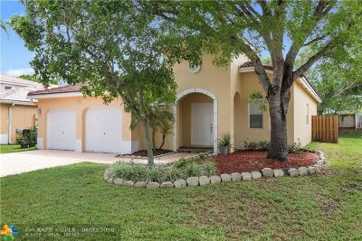 Coconut Creek Single Family Home For Sale: 4415 NW 45th Ter