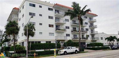 Miami Beach Condo/Townhouse For Sale: 1428 Euclid Ave #207