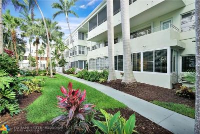 Fort Lauderdale Condo/Townhouse For Sale: 1000 SE 4th St #109
