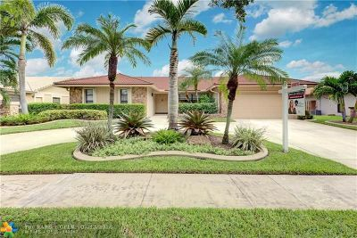 Plantation Single Family Home For Sale: 9641 NW 10th Ct