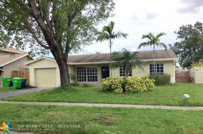 Sunrise Single Family Home For Sale: 11651 NW 41 Street