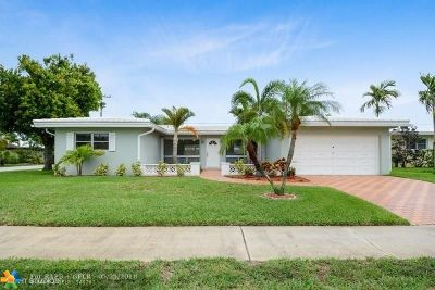 Fort Lauderdale Single Family Home For Sale: 2148 NE 61st Ct
