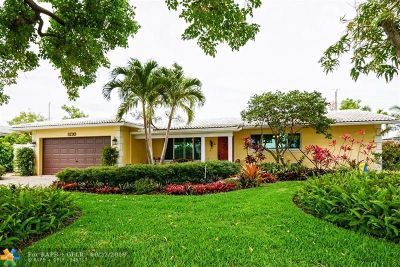 Fort Lauderdale Single Family Home For Sale: 5730 NE 20th Ave