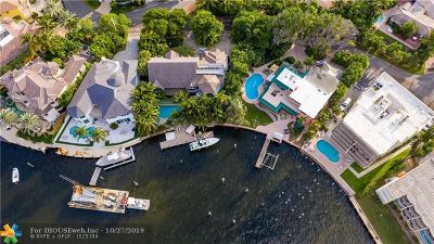 Pompano Beach Single Family Home For Sale: 2406 Bay Dr