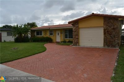 Pembroke Pines FL Single Family Home For Sale: $409,000