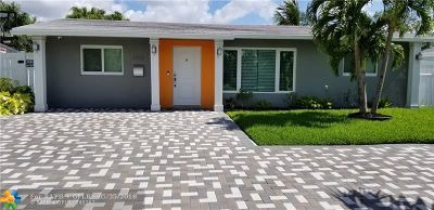 Oakland Park Single Family Home For Sale: 1931 NW 33rd Court
