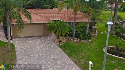 Coral Springs Single Family Home For Sale: 6650 NW 47th St