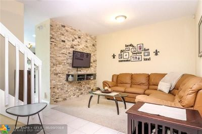 Coral Springs Condo/Townhouse Backup Contract-Call LA: 11711 NW 47th Dr #11711