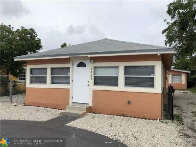 Fort Lauderdale Multi Family Home For Sale: 1437 N Andrews Ave