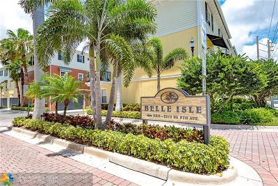 Wilton Manors Condo/Townhouse For Sale: 2281 NE 9th Ave #2281