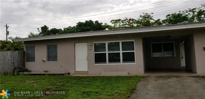 Broward County, Collier County, Lee County, Palm Beach County Rental For Rent: 1520 NE 32nd St