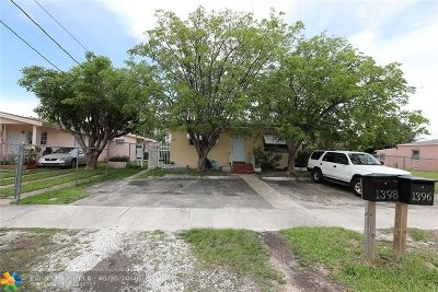 Miami Multi Family Home For Sale: 1398 NE 110th Ter