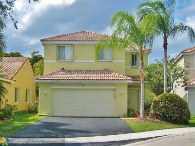 Weston Single Family Home For Sale: 1444 Sabal Trl
