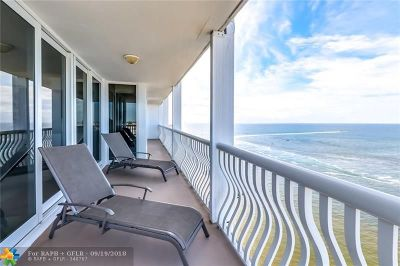 Fort Lauderdale Condo/Townhouse For Sale: 2200 S Ocean Ln #2102