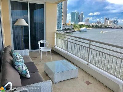Miami Condo/Townhouse For Sale: 848 Brickell Key Dr #901