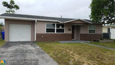 Broward County, Collier County, Lee County, Palm Beach County Rental For Rent: 7540 Raleigh St