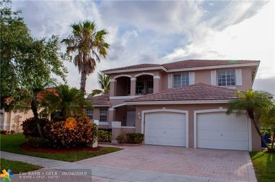 Pembroke Pines Single Family Home For Sale: 368 SW 188th Ter