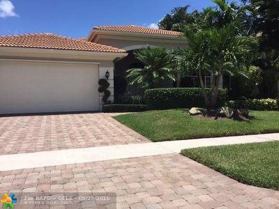 Boca Raton Single Family Home For Sale: 16930 Braeburn Ridge