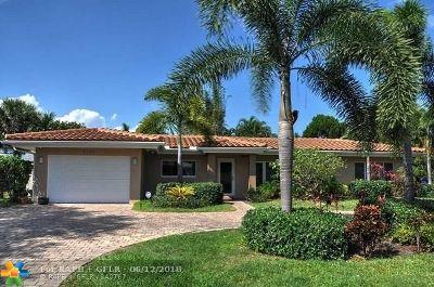 Fort Lauderdale Single Family Home For Sale: 2725 NE 27th St
