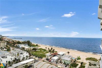 Pompano Beach Condo/Townhouse For Sale: 801 Briny Ave #1505