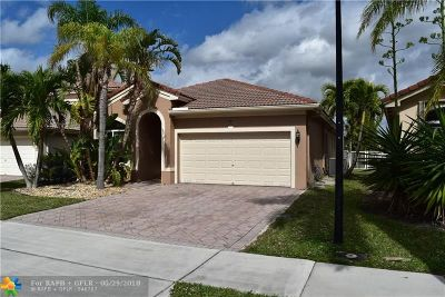Coconut Creek Single Family Home For Sale: 3791 Woodfield Ct