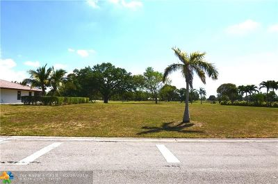 Coral Springs Residential Lots & Land For Sale: NW 112th Ave