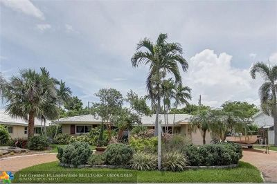 Fort Lauderdale Single Family Home For Sale: 2920 NE 44th St