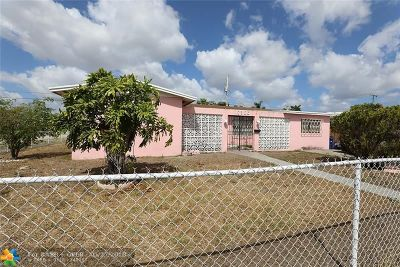 Single Family Home Sold: 17300 NW 16th Ave