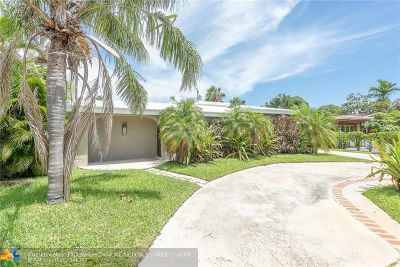 Wilton Manors Single Family Home For Sale: 811 NW 29th Ct