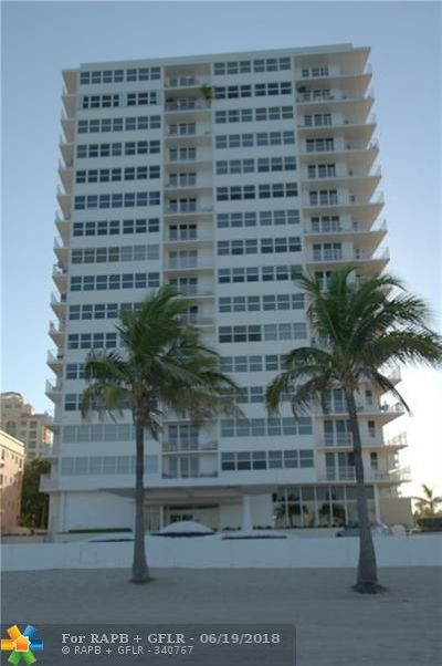 Fort Lauderdale Condo/Townhouse For Sale: 209 N Fort Lauderdale Beach Blvd #6-D