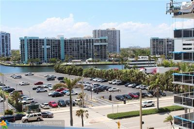 Hollywood Condo/Townhouse For Sale: 3801 Ocean Dr #6W
