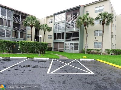 North Lauderdale Condo/Townhouse For Sale: 1800 SW 81 #1409