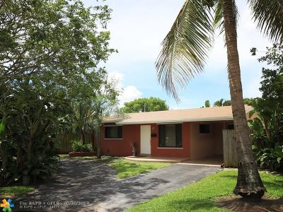 Wilton Manors Single Family Home For Sale: 2749 NE 6th Ave