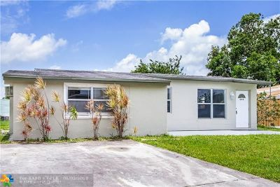 Margate Single Family Home For Sale: 6175 NW 27th Street