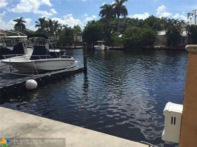 Fort Lauderdale Residential Lots & Land For Sale: 65 Hendricks Isle Slip #10