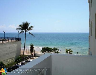 Condo/Townhouse For Sale: 4250 Galt Ocean Dr #3R