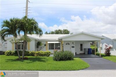 Pompano Beach Single Family Home For Sale: 330 NW 24th Ct