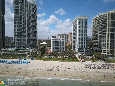 Sunny Isles Beach Condo/Townhouse For Sale: 17275 Collins Ave #509