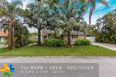 Lake Worth Single Family Home For Sale: 3343 Amberjack Rd
