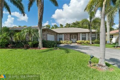 Coral Springs Single Family Home For Sale: 2426 NW 118th Ter