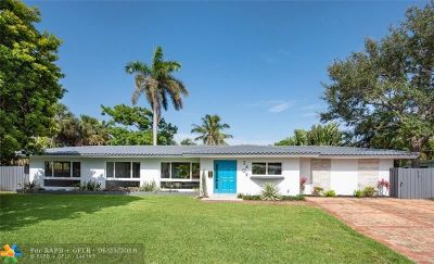 Fort Lauderdale Single Family Home For Sale: 2409 NE 27th Ter