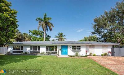 Fort Lauderdale Single Family Home For Sale: 2409 NE 27th Ter