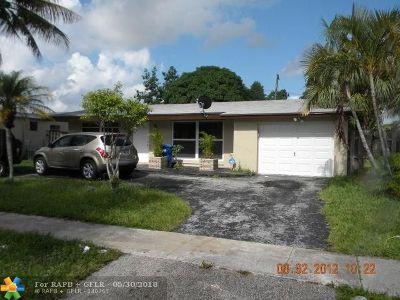Sunrise Single Family Home Backup Contract-Call LA: 2421 NW 68th Ave