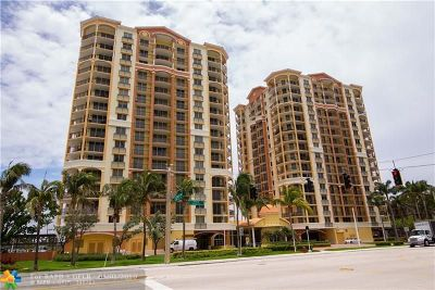 Fort Lauderdale Condo/Townhouse For Sale: 2011 N Ocean Blvd #401