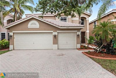 Coral Springs Single Family Home For Sale: 5354 NW 119th Ter