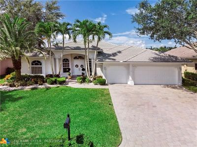 Coral Springs Single Family Home For Sale: 11236 NW 49th St
