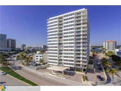 Fort Lauderdale Condo/Townhouse For Sale: 209 N Fort Lauderdale Beach Blvd #11-C