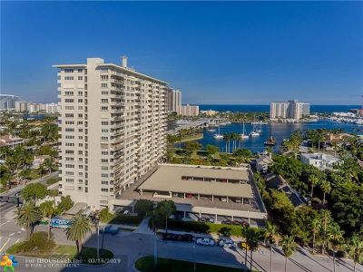 Fort Lauderdale Condo/Townhouse For Sale: 2500 E Las Olas Blvd #409