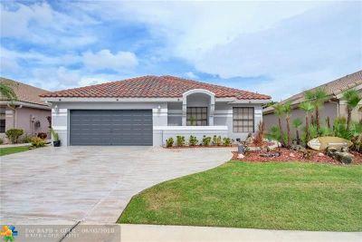 Boca Raton Single Family Home For Sale: 21410 Bridge View Dr