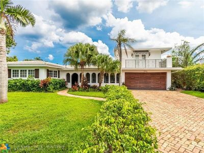Pompano Beach Single Family Home For Sale: 3410 Dover Rd
